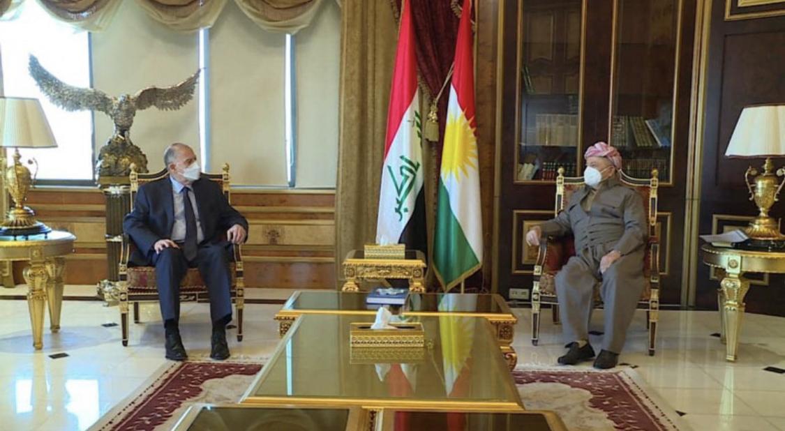 Başkan Mesud Barzani Nuceyfi ile bölgeyi görüştü