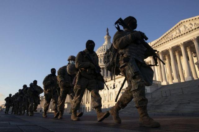 ABD'de aşırı sağcılarla bağlantıları nedeniyle 12 Ulusal Muhafız görevden alındı!