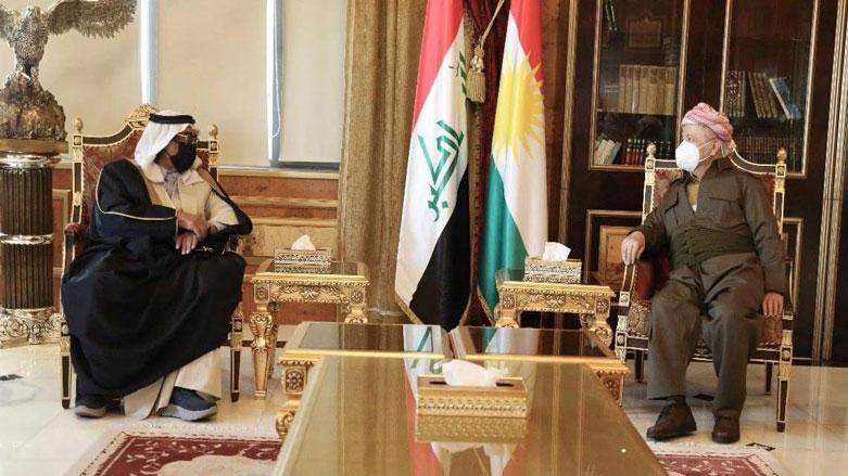 Başkan Barzani, Suriyeli aşiret lideriyle bir araya geldi!
