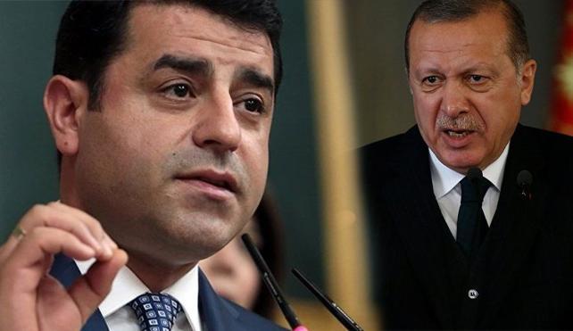Erdoğan'dan AİHM'nin Demirtaş kararına tepki: Bizi bağlamaz!