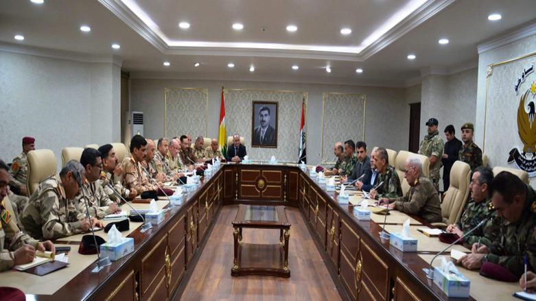 Irak'tan askeri bir heyet, Erbil'de Peşmerge Bakanlığı yetkilileriyle görüşecek!
