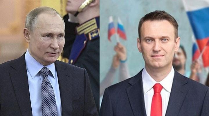 Putin'den Navalnıy'ın iddialarına yanıt!