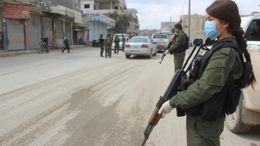 Asayiş güçleri Kamışlo'da, rejime bağlı 20 askeri serbest bıraktı!