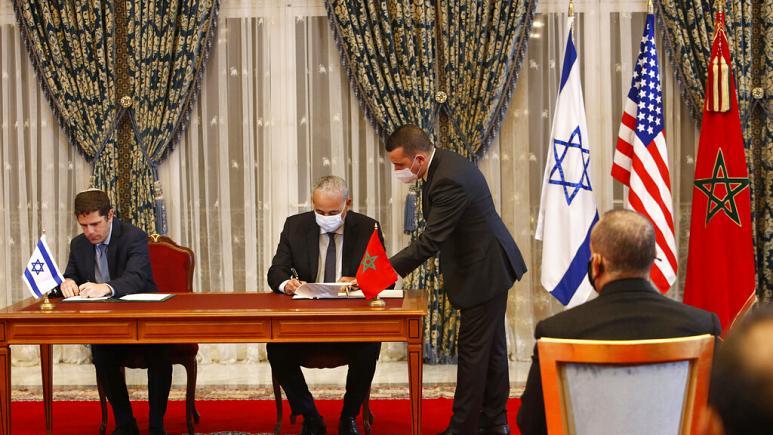 Fas ve İsrail arasında ilk anlaşmalar imzalandı