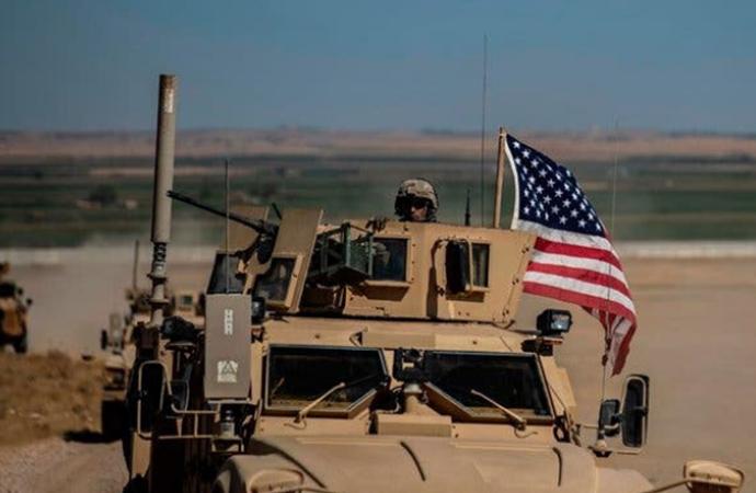 ABD ordusundan Derik-Şırnak sınırında ilk devriye!