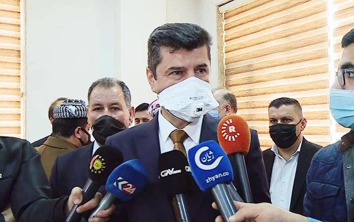 Duhok Valisi: Türkiye, Mahmur için de anlaşma istiyor