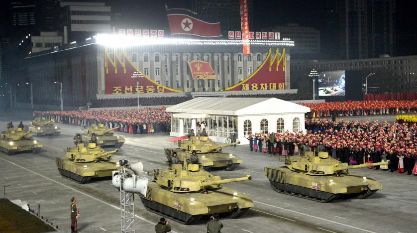 Kuzey Kore'den Biden'ın yemin töreni öncesi gövde gösterisi!