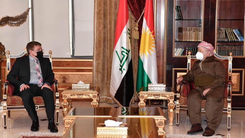 Ünlü Kürt doktor Azad Necar, Başkan Barzani ile bir araya geldi