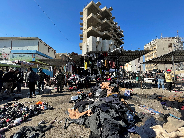 Bağdat'taki intihar saldırılarını IŞİD üstlendi!