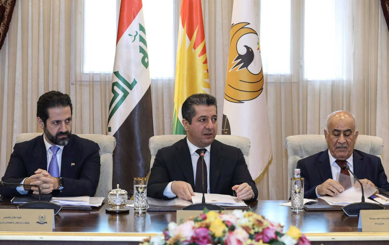 Başbakan Mesrur Barzani başkanlığında Bakanlar Kurulu toplanıyor