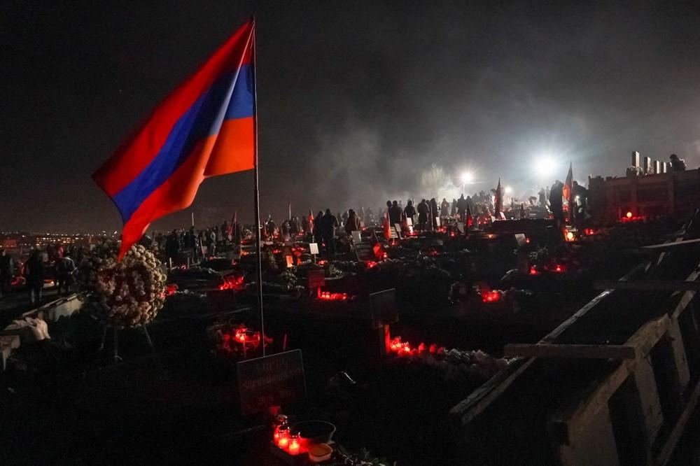 Ermenistan: Paşinyan'ın istifası için süresiz protesto kararı