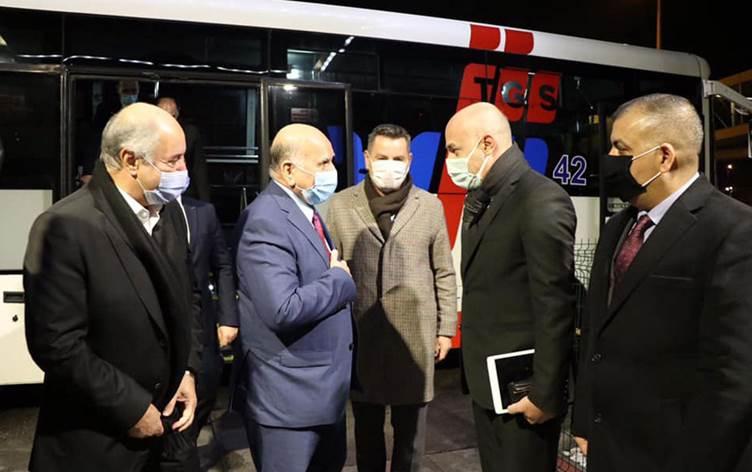 Irak Dışişleri Bakanı Türkiye'de
