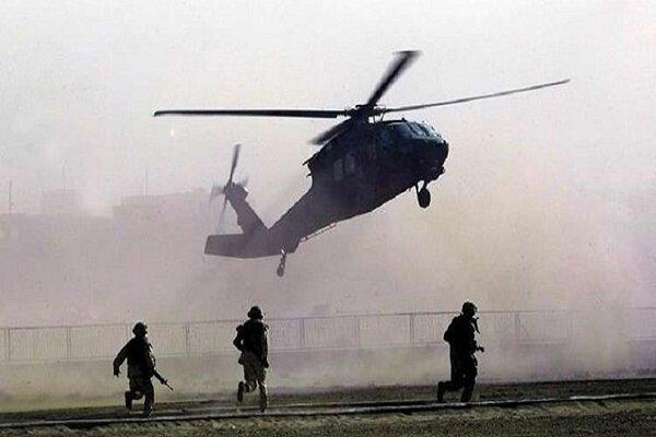 Rojava'da bir ABD askeri helikopterinin düştüğü, iddia edildi!