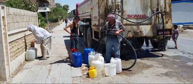 Haseke'nin suyu yine kesildi: 1 milyon kişi susuz kaldı!