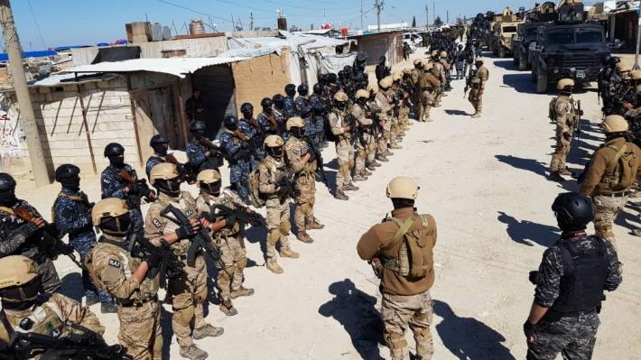 Rojava | Hol Kampı'na operasyon: Çok sayıda kişi gözaltına alındı!