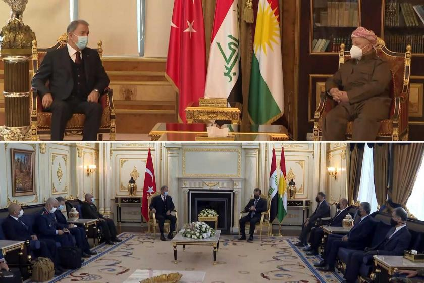 Akar'dan Kürdistan ziyareti kapsamında Şengal hakkında açıklama!
