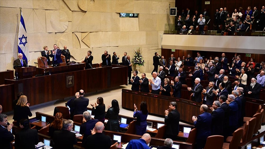 İsrail: Meclisi feshedip erken seçimin yolunu açacak olan tasarı onaylandı