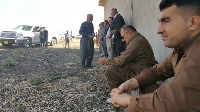 """""""Haşdi Şabi komutanı, Kürt çiftçilere ait tarlaları işgal etti"""""""
