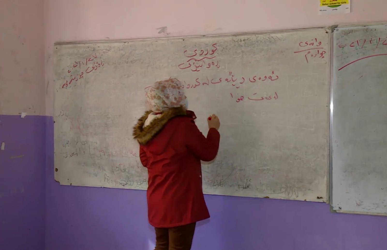 Kürtçeyi müfredattan kaldıran Irak Eğitim Bakanlığı'na tepki!