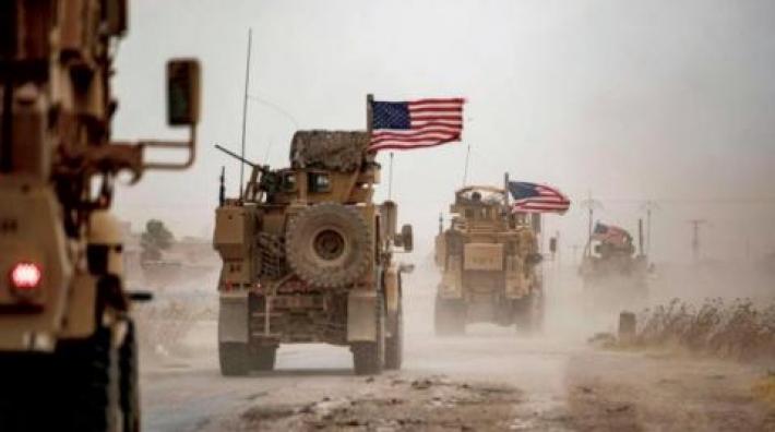 Irak'ta koalisyon konvoyunun geçişi esnasında patlama meydana geldi!