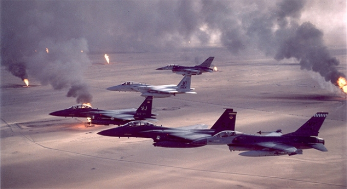 Koalisyon uçakları Kerkük'te IŞİD'i bombaladı!