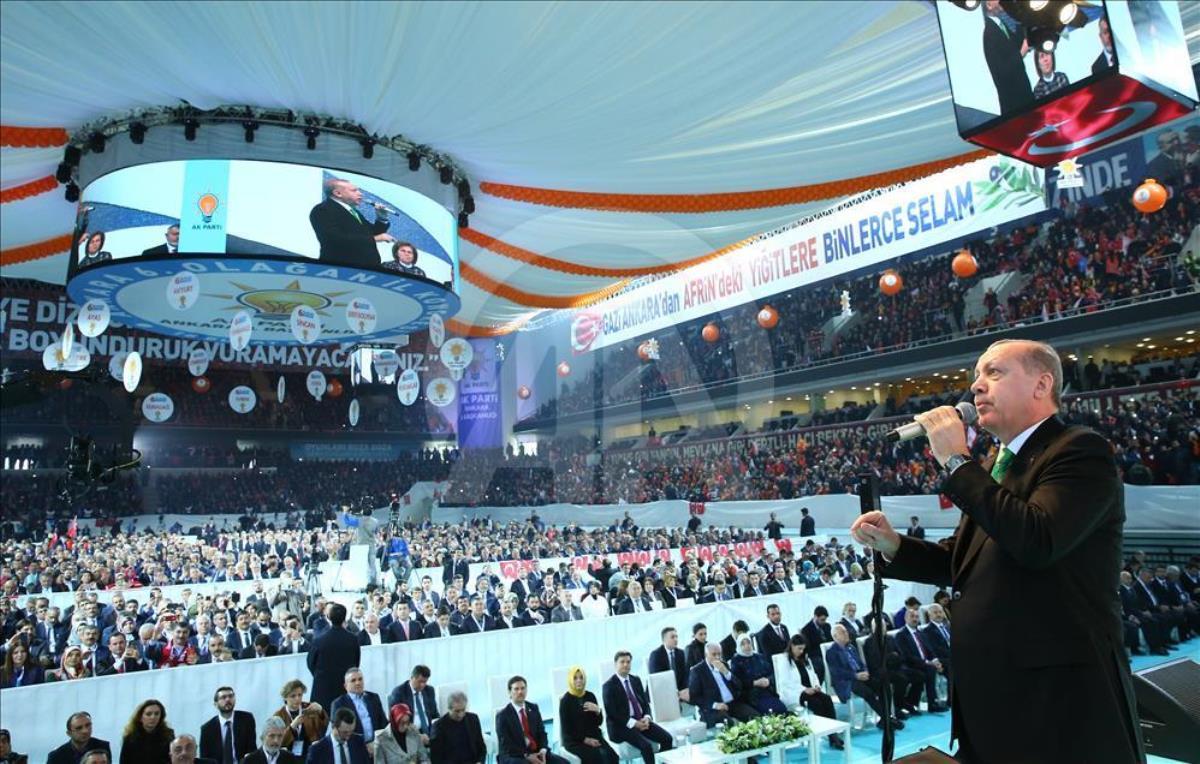 """Erdoğan'ın """"2023'ün manifestosu olacak"""" dediği kongre başladı!"""