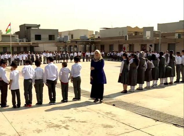 Kürdistan Bölgesi | Salgın nedeniyle ara verilen eğitime yeniden başlandı
