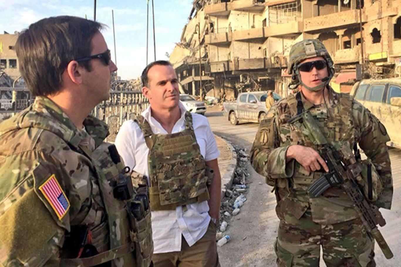Biden tarafından ulusal güvenlik ekibine seçilen McGurk'tan açıklama!