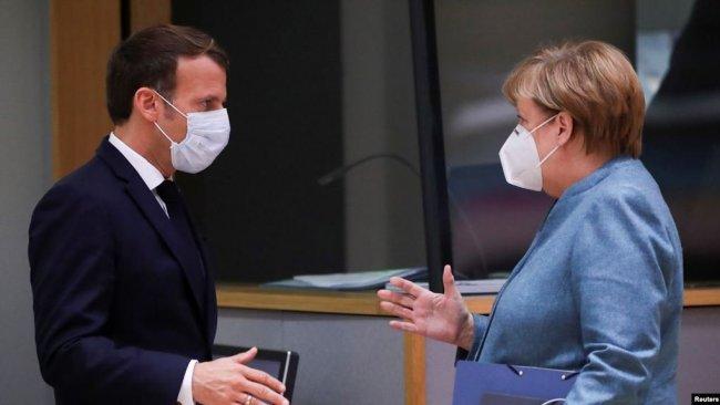 Yunanistan: Merkel, Macron'u Türkiye konusunda ikna etti
