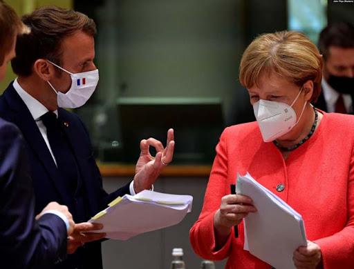 Macron ve Merkel'den Türkiye açıklaması!