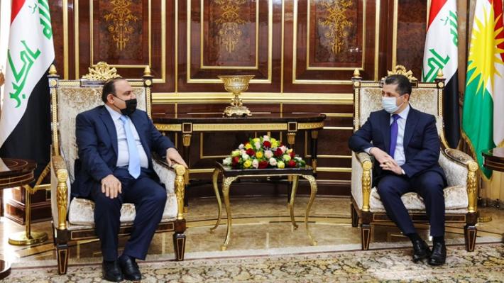 Başbakan,  Irak Adalet Bakanı ile bir araya geldi