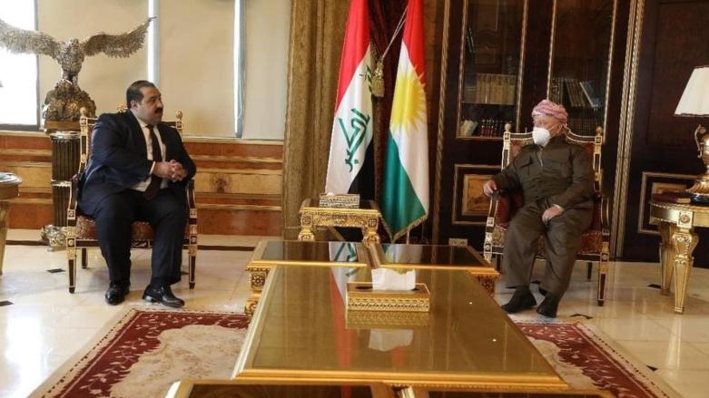 Başkan Barzani Bağdat heyetini kabul etti!