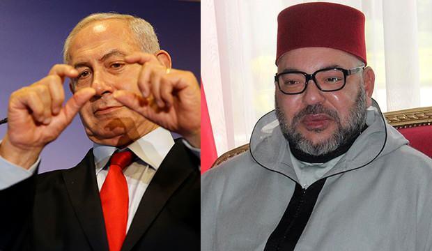 Fas Kralı, Netanyahu ile görüştü