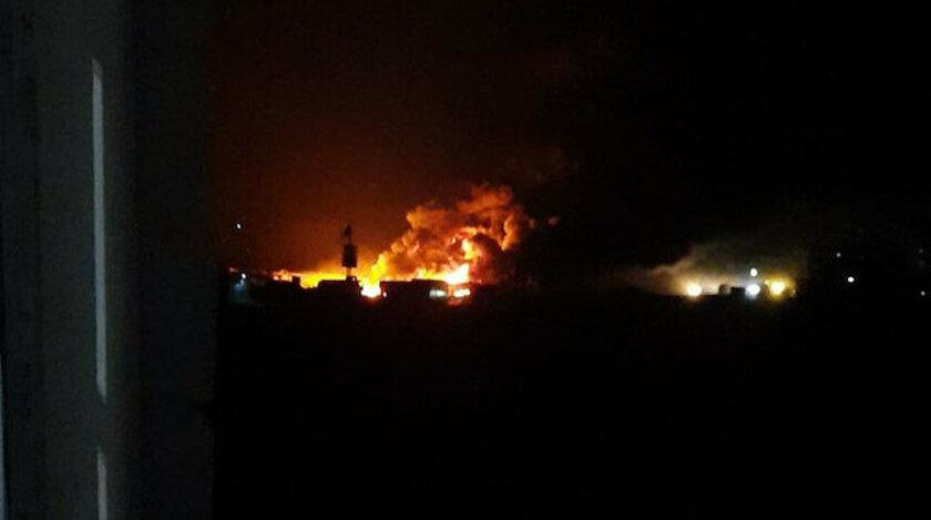 """""""SİHA'lar Suriye'nin Bab şehrindeki Petrol sahasını bombaladı"""""""