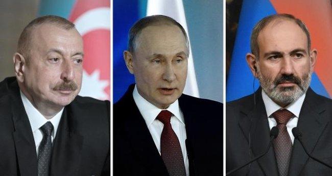 Putin, Aliyev ve Paşinyan Moskova'da bir araya gelecek!