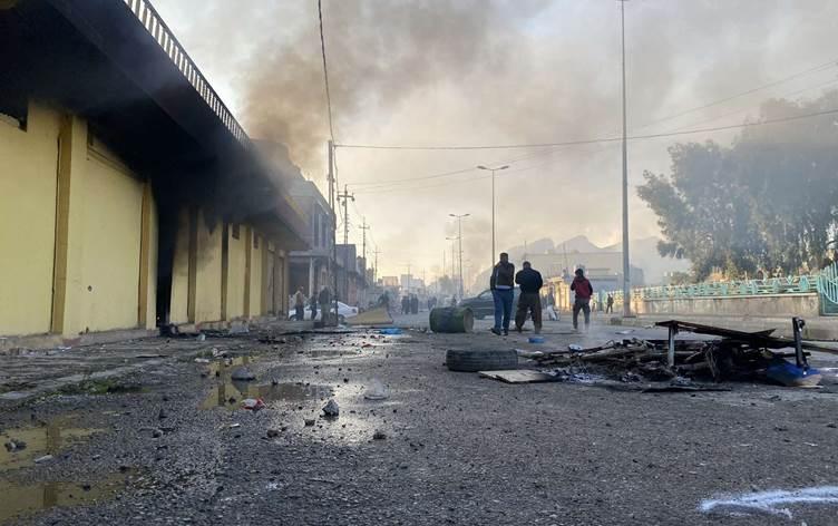 KDP'li yetkili: Süleymaniye'deki şiddet eylemlerinin arkasında PKK var!