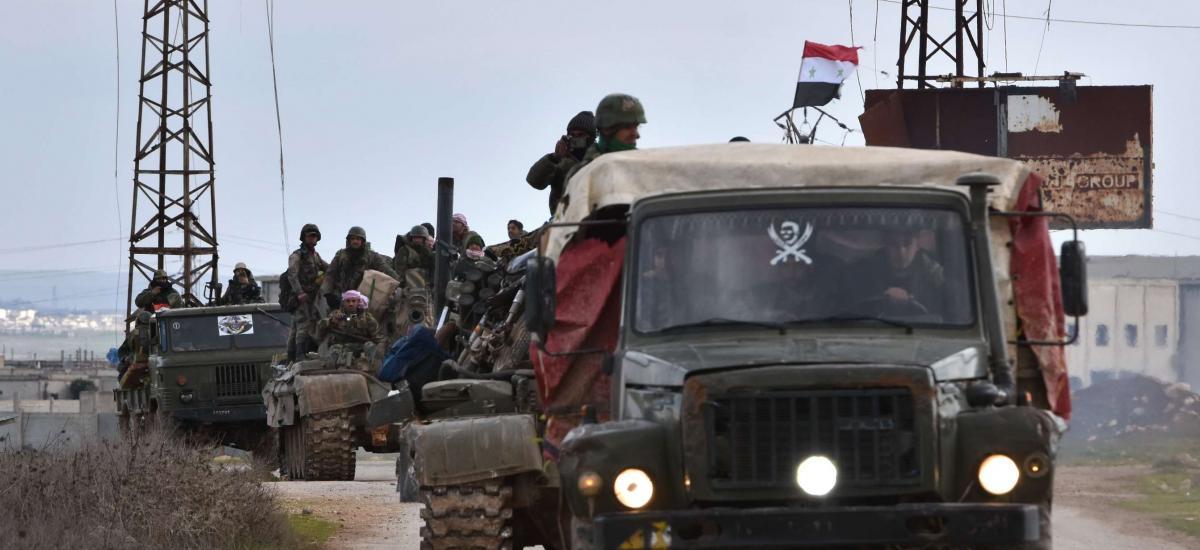 Suriye'deki operasyonlarda 3 rejim askeri öldürüldü!