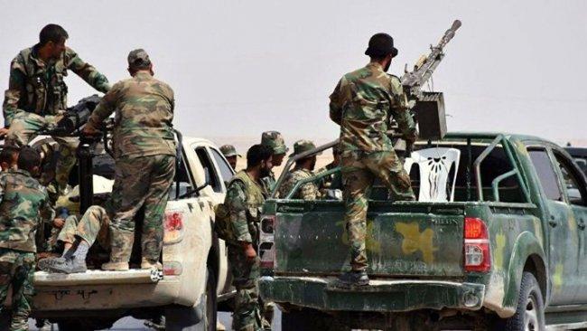 Rejim güçlerinden IŞİD'e operasyon: 10 Suriyeli asker öldürüldü!