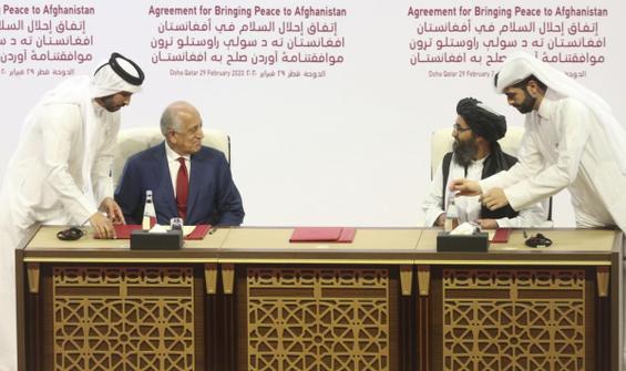 Biden yönetimi, Taliban ile yapılan barış anlaşmasını gözden geçirecek!