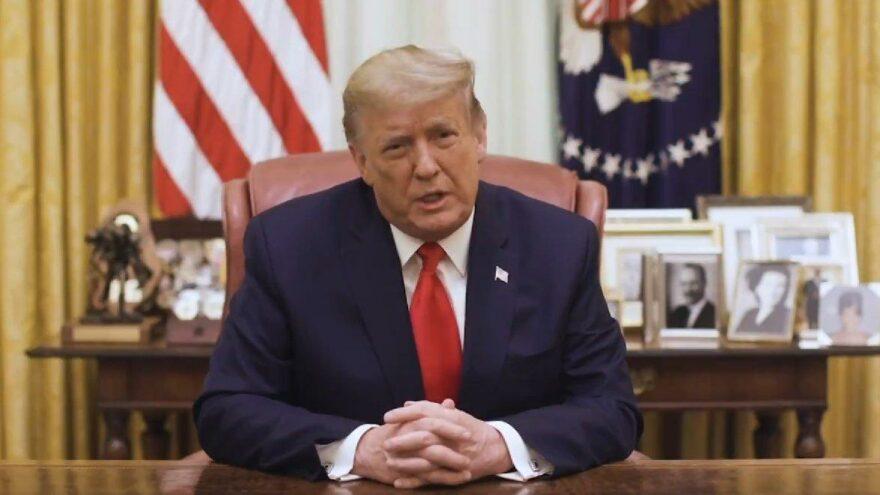 Trump: Gelecek günlerde başka protesto gösterileri olacağı haberini aldım!