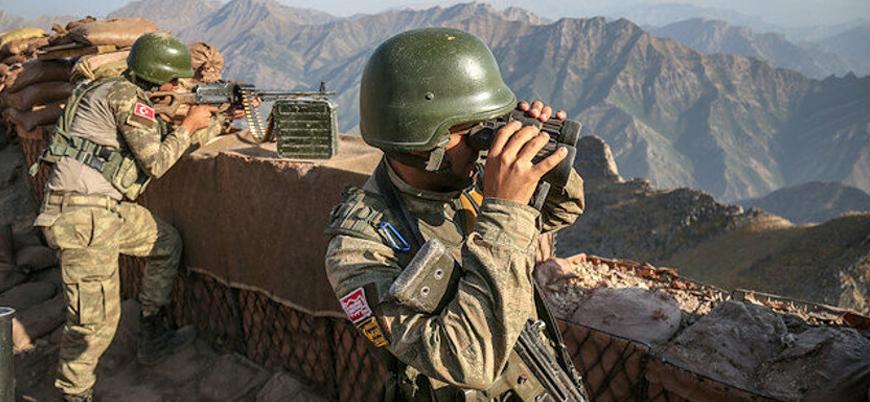 TSK, Irak Sınır Muhafızları'nın bulunduğu bölgeyi vurdu!