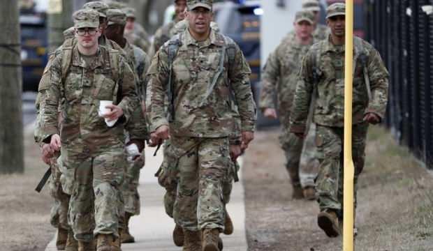 ABD | Ulusal Muhafızlar'dan maruz kaldıkları muameleye tepki!