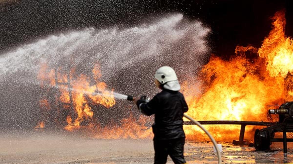 Erbil: Petrol rafinesinde çıkan yangında 3 işçi öldü!