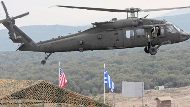 Yunanistan'dan Ege'ye askeri takviye: 30 ABD helikopteri Dedeağaç'ta!