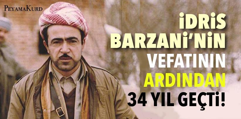 İdris Barzani vefatının 34. yılında anılıyor