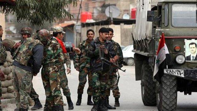Dera'da Suriye rejimine bağlı 12 asker öldürüldü!