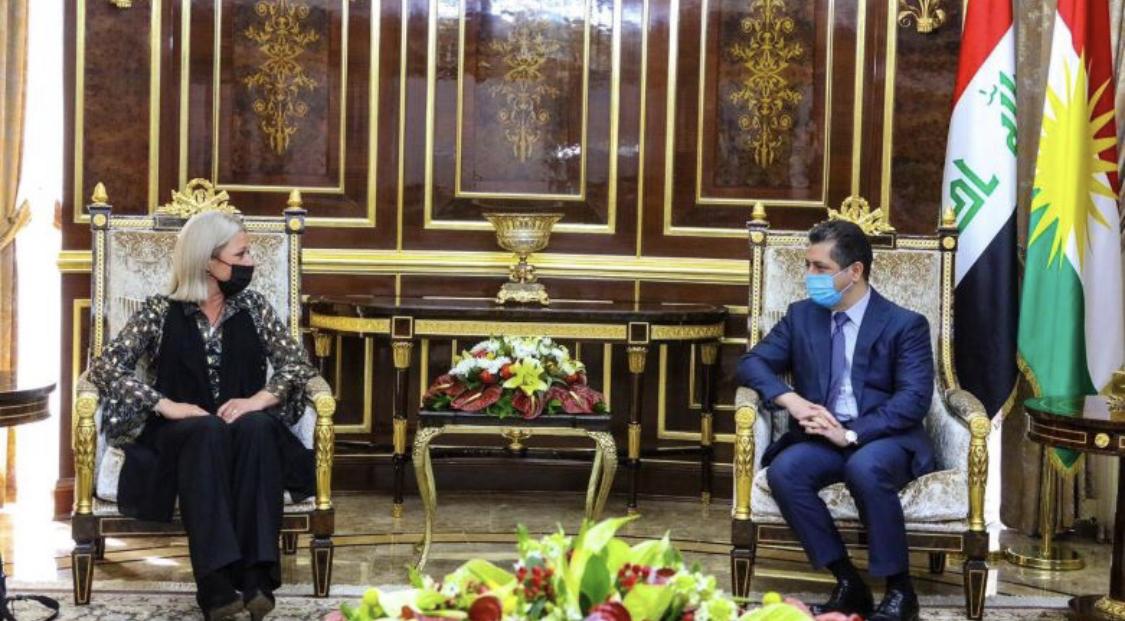 Başbakan Barzani ve BM temsilcisi: O konuda hemfikiriz