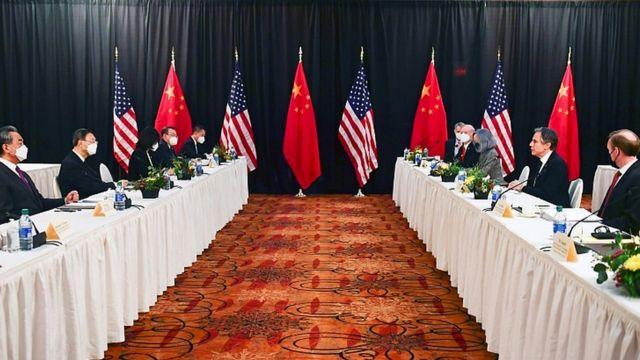 ABD ve Çin arasındaki yüksek düzeyli ilk temas gergin başladı!