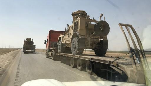 Koalisyon'dan Rojava'ya yeni askeri yardım konvoyu!