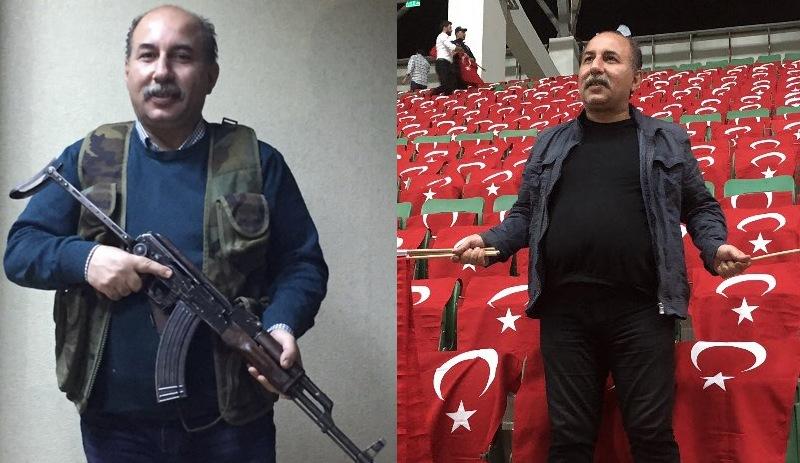 """AKP'li yöneticiden amirallere silahlı """"mezarınız olursa namerdim"""" tehdidi"""